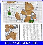 Bordi per bambini (lenzuolini ed altro) schemi e link-orso-che-sogna1-jpg