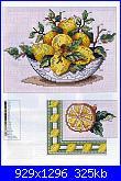 Tovaglie- Tovagliette- schemi e link-tovaglia-limoni-2-jpg