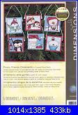 Idee Natalizie per decorare  la casa...- schemi e link-dimensions-70-08940-frosty-friends-ornaments-jpg