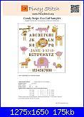Sampler nascita - schemi e link-pinoy-stitch-candy-stripe-zoo-girl-sampler-jpg
