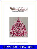 NATALE: Gli alberi di Natale - schemi e link-sapin-rouge-1-jpg