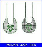 Schemi per bavette, bavaglini - schemi e link-7a4916152bf4bdc1a1d9513b2204efae-jpg
