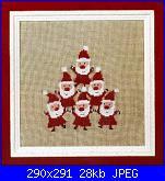 Idee Natalizie per decorare  la casa...- schemi e link-monica-schnug-8-2006-froliche-weihnachtsmanner-jpg