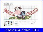 Schemi per bavette, bavaglini - schemi e link-schema-jpg