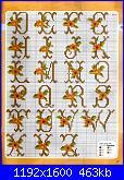 Alfabeti  fiori ( Vedi ALFABETI ) - schemi e link-fiore-giallo-2-jpg