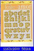 Alfabeti  fiori ( Vedi ALFABETI ) - schemi e link-giallo-3-jpg