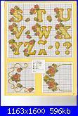 Alfabeti  fiori ( Vedi ALFABETI ) - schemi e link-giallo-2-jpg