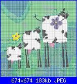 Mucche* ( Vedi ANIMALI ) - schemi e link-3vacas-jpg