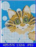 Cuscini,Pillows,Almofadas,Coussins* - schemi e link-gatto-1-jpg
