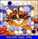 Cuscini,Pillows,Almofadas,Coussins* - schemi e link-gatto-jpg
