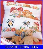 Bordi per bambini (lenzuolini ed altro) schemi e link-005_bosco-jpg