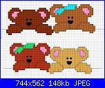 Bordi per bambini (lenzuolini ed altro) schemi e link-strisciaorsetti4-4-jpg