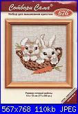 Animali vari* ( VEDI ANIMALI ) - schemi e link-coniglietti-jpg