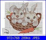 Animali vari* ( VEDI ANIMALI ) - schemi e link-coniglietti-pict-jpg