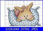 Animali vari* ( VEDI ANIMALI ) - schemi e link-cuscino-coniglietto-1-jpg