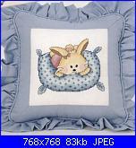 Animali vari* ( VEDI ANIMALI ) - schemi e link-cuscino-coniglietto-pict-jpg
