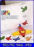 Bordi per bambini (lenzuolini ed altro) schemi e link-aerei-jpg