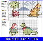 Bordi per bambini (lenzuolini ed altro) schemi e link-baby_dino-jpg