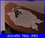 cerco schema all'uncinetto  per centrotavola con farfalle-1094565098281-jpg