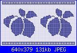 Cerco Schema bordo tovaglia da cucina disegno frutta-crochetfilet051-jpg