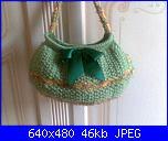 I miei lavori artigianali (Santina)-borsa-verde-lana-jpg