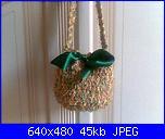 I miei lavori artigianali (Santina)-borsa-lana-verde-con-fiocco-jpg