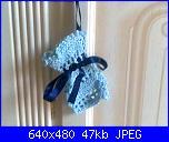 I miei lavori artigianali (Santina)-portatelefonino-azzurro-jpg