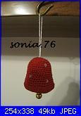 I lavori all'uncinetto di Sonia.76-campanellina-1-jpg