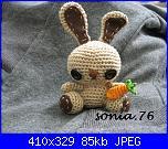 I lavori all'uncinetto di Sonia.76-coniglietto_idotti-jpg