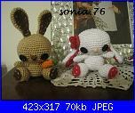 I lavori all'uncinetto di Sonia.76-coniglietti-jpg