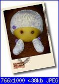 Ably - I miei lavori all'uncinetto-scarpine-e-cappellino-bianco-jpg