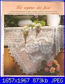 Centrotavola filet e non-tovaglietta-con-rose-e-rombi-1-jpg