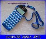 Portacellulari & Co.-portatelefonino-bianco-azzurro-foto-1-jpg