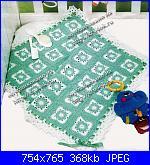 Schemi copertine per i nostri piccolini !!!-coperta-verde-1-jpg