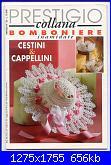 """Rivista """"Prestigio collana... Bomboniere inamidate - Cestini & Cappellini""""-senza-titolo1-jpg"""