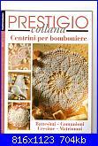 """Rivista """" Prestigio  Collana ....Centrini per bomboniere""""  per  tutti i Sacramenti-img001-jpg"""