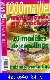 1000 mailles - miniatures au crochet - 20 modèles de capelines-43couverture-jpg