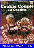 Leisure Arts - Leaflet 2536 - Cookie Couple-leisure-arts-leaflet-2536-cookie-couple-jpg