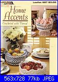 Leisure Arts - Leaflet 997 - Home Accents-leisure-arts-leaflet-997-home-accents-jpg