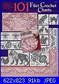 """Rivista """"Uncinetto Filet""""-101-filet-crochet-charts-fc-jpg"""