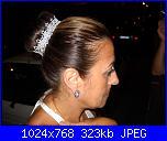 Acconciatura per Sposa e damigella con filato Coats Metallic argento-dscn2655-jpg