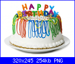 Buon Compleanno Anny78-happy_birthday-torta-bianca-png