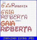 schema nome: Gaia e Roberta-gaia-roberta-jpg