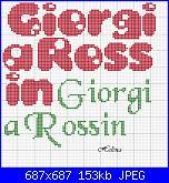 Scritte nomi Giorgio e Giorgia-giorgia1-jpg