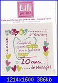 Richiesta scritte quadro 25 anniversario matrimonio-mariage-20ans-jpg