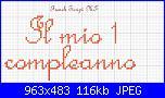 """Cerco """"Il mio 1 compleanno""""in corsivo-il-mio-1-compleanno-jpg"""
