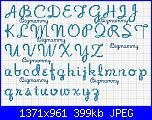 """Alfabeto font """"NoodleScript"""" e """"Wrexham Script""""-alfabeto-noodlescript-18-punti-jpg"""