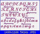 """Alfabeto font """"NoodleScript"""" e """"Wrexham Script""""-alfabeto-wrexham-script-18-punti-jpg"""