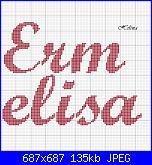 Nomi * Riccardo e Ermelisa* in corsivo-ermelisa-script-mt-bold-jpg