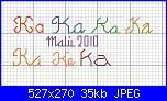 sigla Ka in corsivo e punto scritto-ka-jpg